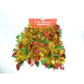 30 Units of Xmas Tinsel Garland - Christmas Ornament
