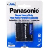 96 Units of 4pc AAA Batteries - Batteries