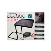 3 Units of Adjustable Bedside Table