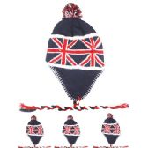 72 Units of GREAT BRITAIN FLAG CHULLO HAT - Winter Helmet Hats
