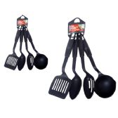 72 Units of 4 Piece Kitchen Utensil Set - Kitchen Utensils