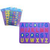 96 Units of Alphabet Eva Sheet - Novelty Toys