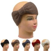 72 Units of Ladies Winter Head Band Assorted Colors - Headbands