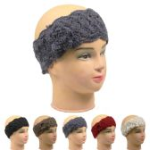 72 Units of Ladies Winter Headband Assorted Colors - Headbands
