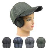 36 Units of MEN WARM WINTER CAP IN ASSORTED COLORS - Fedoras, Driver Caps & Visor