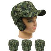 72 Units of Camouflage Winter Baseball Cap - Fedoras, Driver Caps & Visor