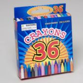 36 Units of Crayons 36ct - Markers and Highlighters