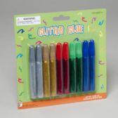 72 Units of Glitter Glue Tubes - Craft Glue/Glitter