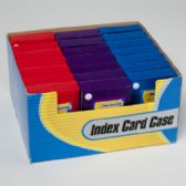72 Units of Index Card Case - Labels ,Cards and Index Cards