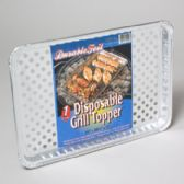 120 Units of Aluminum Grill Topper - Bbq Supply