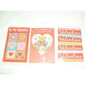 36 Units of Single Greeting Card - Valentine's Day - Valentines