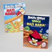 96 Units of Angry Birds Maze Mania 2 Asst Titles 96 Pgs In Pdq - Activity Books