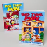 24 Units of Big Time Fun Coloring Book 2 Asstd - Coloring & Activity Books