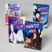 48 Units of Board Book Halloween 4asst Pdq Witch,haunted House,little Secret,perfect Halloween