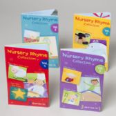 72 Units of Board Books 4 Asst Nursery Rhymes In Pdq - Activity Books