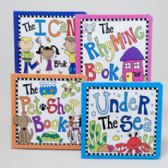72 Units of Board Books 4 Asstd Under The Sea,rhyming,pet Shop And The I Can Book In Pdq