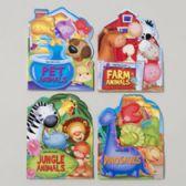 48 Units of Board Books Fan-tab-u-lus 4 Asstd Animals Farm,pet,jungle Dinosauers