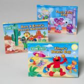 24 Units of Book Pop Up Sesame Street 3 Asst Titles 4 Pages - Activity Books