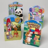 48 Units of Book Preschool Shaped Education 4 Asst Styles