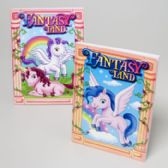 96 Units of Coloring Book Fantasty Land 2 Asst In 24 Ct Pdq