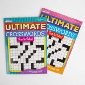 24 Units of Crossword Puzzle Book Ultimate 2asst
