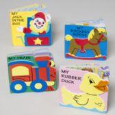 96 Units of Foam Books Toy Pals 4 Asstd