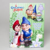 72 Units of Gnomeo And Juliet Reusable Sticker Book - Activity Books