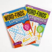 36 Units of Puzzle Book Companion Wordfind/ Crossword In 36 Pc Cntr Display 128 Pg - Dictionary & Educational Books