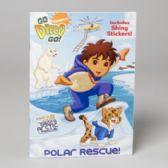 144 Units of Sticker Book Go Diego Go Polar Resuce Hologramatic
