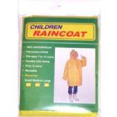 48 Units of Children Rain Coat - Umbrella
