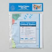 24 Units of Usa Wall Map