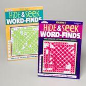 96 Units of Word Find Hide-n-seek 2asst 96 Pgs