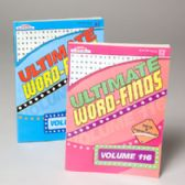 120 Units of Word Find Ultimate Puzzle Book Asst In 120pc Floor Displ