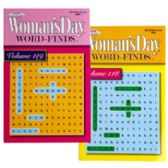 144 Units of Word Find Woman's Day Travelsize 2asst In 144pc Floor Display 128 Pages