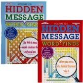 96 Units of Word Finds Hidden Message 96pg 2asst In 24pc Counter Display