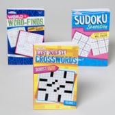96 Units of World Of Puzzles 3 Asst 128 Pg Word Finds,sudoku,easy Xwords In Pdq