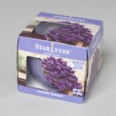 96 Units of Candle Scented Lavender 3oz Glass Jar/ Printd Window Box Made In Usa - Candle Sets