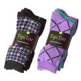 180 Units of Tipi Toe Women's Crew Socks - Women's Toe Sock