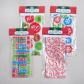 48 Units of Bakery Bags Frosted 8pk - Christmas Gift Bags and Boxes