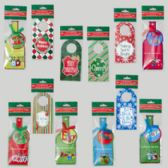 Bottle Gift Add-on Shipper 144pc - Christmas Gift Bags and Boxes