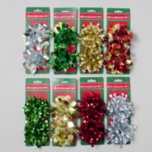 96 Units of Bow 2pk - Christmas Decorations