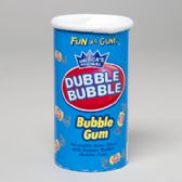 96 Units of Candy Bubble Gum Orig In Twist Bank