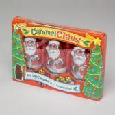 90 Units of Candy Caramel Claus - Christmas Novelties
