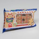 96 Units of Candy Peeps 3ct Gingerbread Man 1.18 Oz Christmas Candy In 24 Ct Pdq - Christmas Novelties