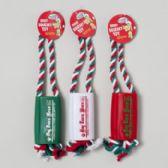 156 Units of Christmas Dog Toy Vinyl News- Paper/rope - Christmas Novelties