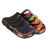 36 Units of Boys Clogs in Assorted Colors And Sizes - Boys Flip Flops & Sandals