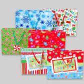 144 Units of Gift Bag Xl Horizontal Christmas 6ast Prints 12.75 X 15.75 X 6 Upc Label/jhook - Christmas Gift Bags and Boxes