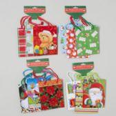 144 Units of Gift Bag Small 3pk Christmas - Christmas Gift Bags and Boxes
