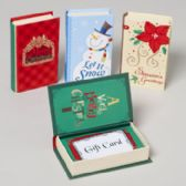 108 Units of Gift Card Holder Book Shape - Christmas Gift Bags and Boxes