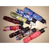 60 Units of Assorted Printed Umbrellas - Umbrellas & Rain Gear